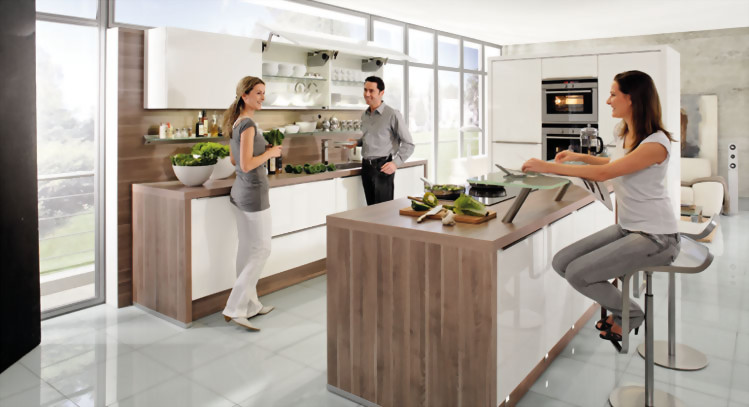 Cocinas ferreira 10 tendencias en cocinas para este 2017 for Muebles de cocina tipo isla