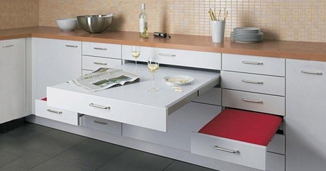 Cocinas ferreira ideas para maximizar y aprovechar el - Aprovechar espacio cocina ...